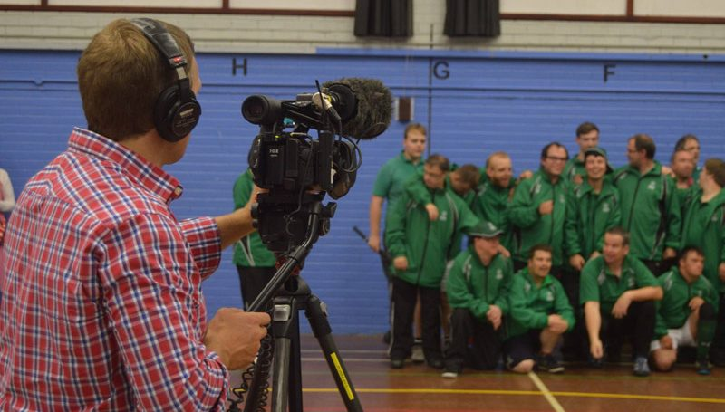 BBC film Sheffield Games lead up