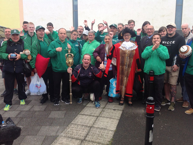 Send off from Plymouth