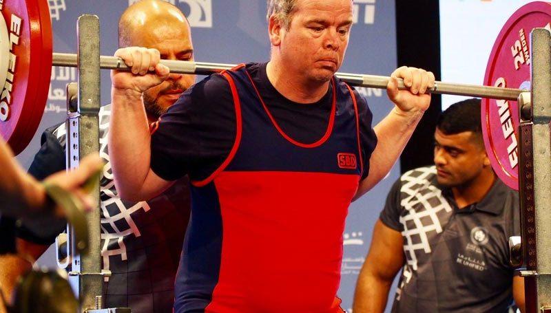 Stephen Dodd Lifting at World Games